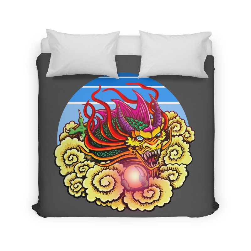 Air Dragon Home Duvet by Joe Abboreno's Artist Shop