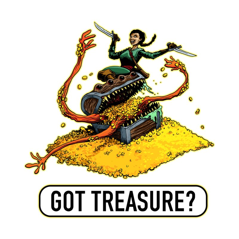 Got Treasure? by Joe Abboreno's Artist Shop
