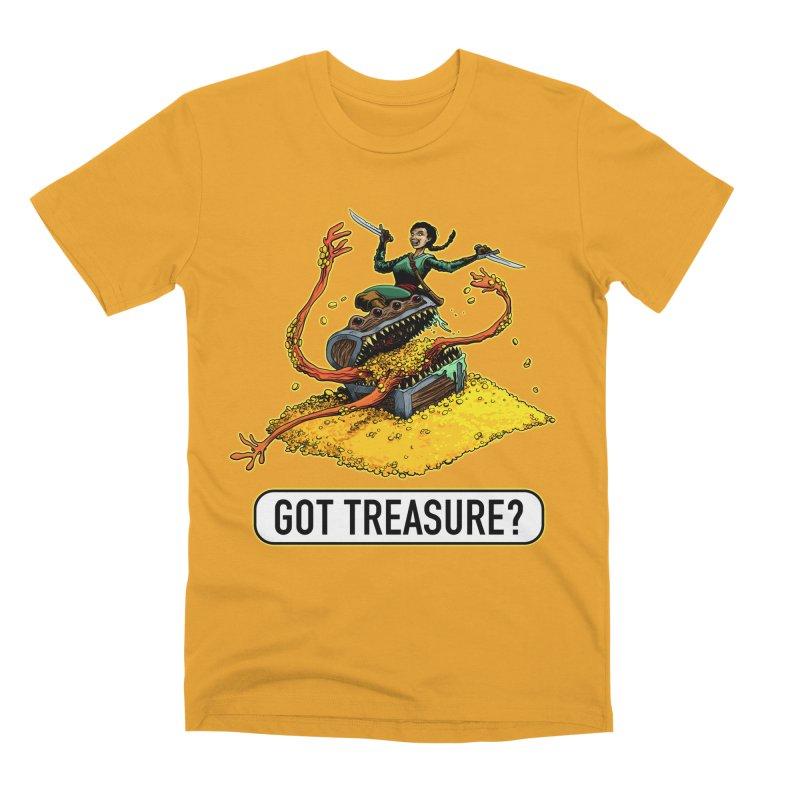 Got Treasure? Men's Premium T-Shirt by Joe Abboreno's Artist Shop