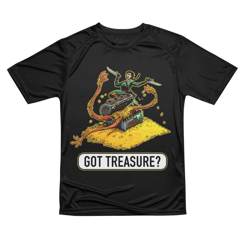 Got Treasure? Men's Performance T-Shirt by Joe Abboreno's Artist Shop