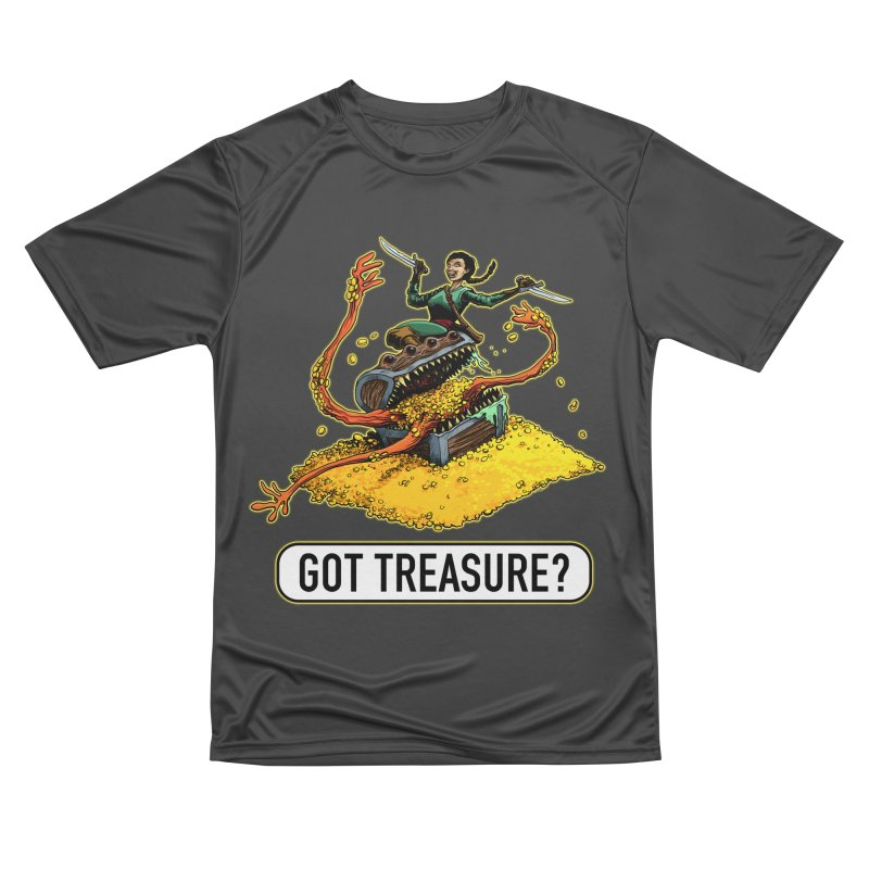 Got Treasure? Women's Performance Unisex T-Shirt by Joe Abboreno's Artist Shop