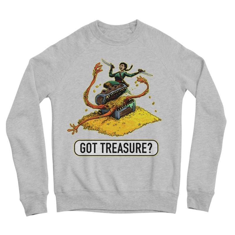 Got Treasure? Men's Sponge Fleece Sweatshirt by Joe Abboreno's Artist Shop