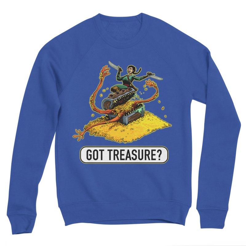 Got Treasure? Women's Sponge Fleece Sweatshirt by Joe Abboreno's Artist Shop