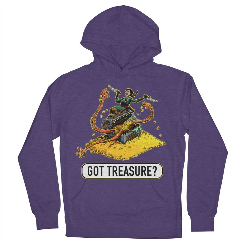 Got Treasure? Women's French Terry Pullover Hoody by Joe Abboreno's Artist Shop