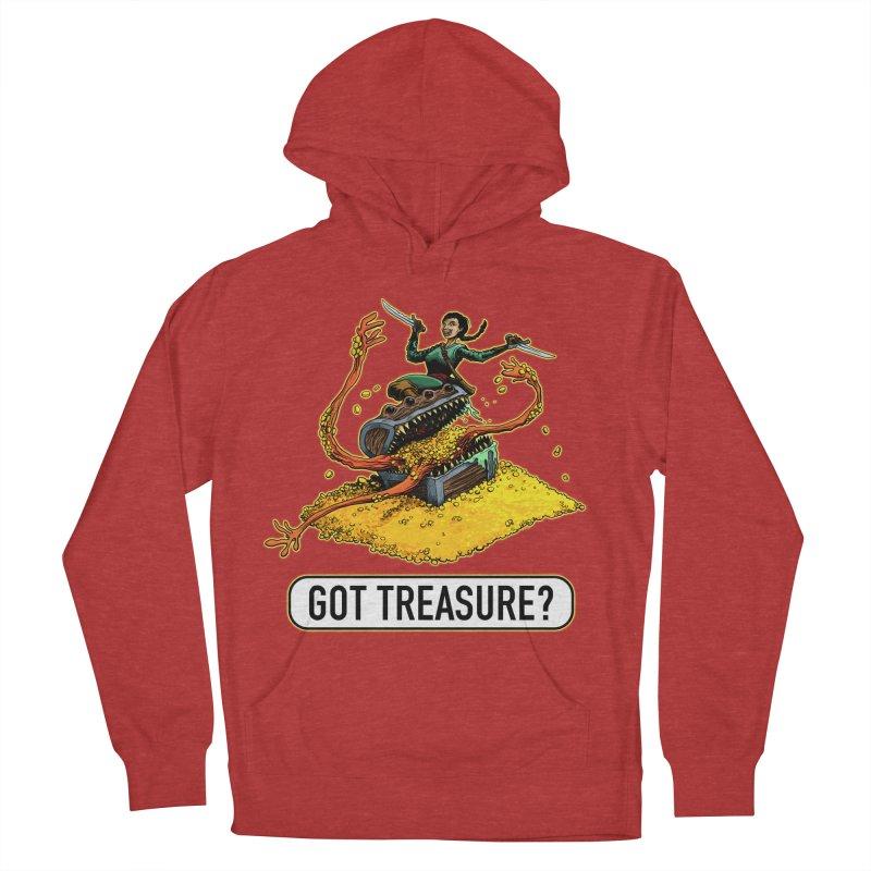 Got Treasure? Men's French Terry Pullover Hoody by Joe Abboreno's Artist Shop