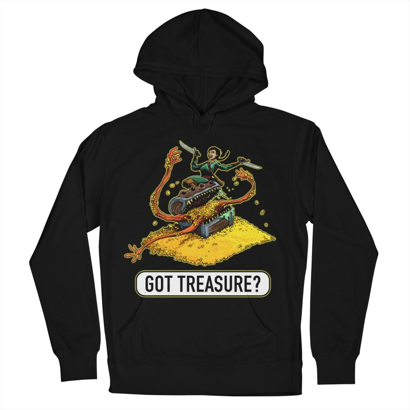 Got Treasure? Men's French Terry Pullover Hoody by Joe Abboreno's Artist Shop