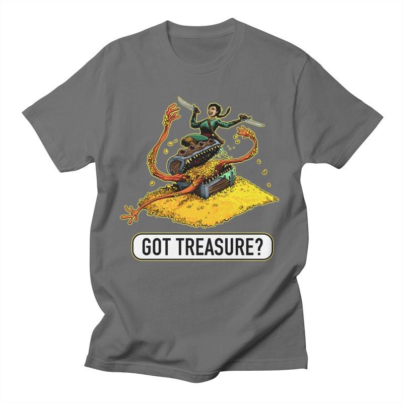 Got Treasure? Men's T-Shirt by Joe Abboreno's Artist Shop