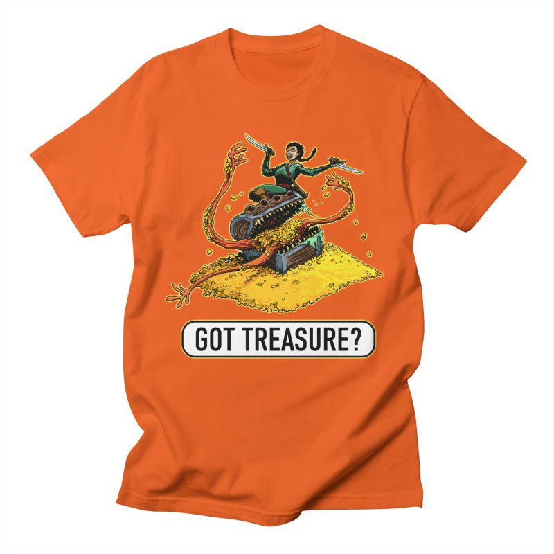 Got Treasure? Women's Regular Unisex T-Shirt by Joe Abboreno's Artist Shop