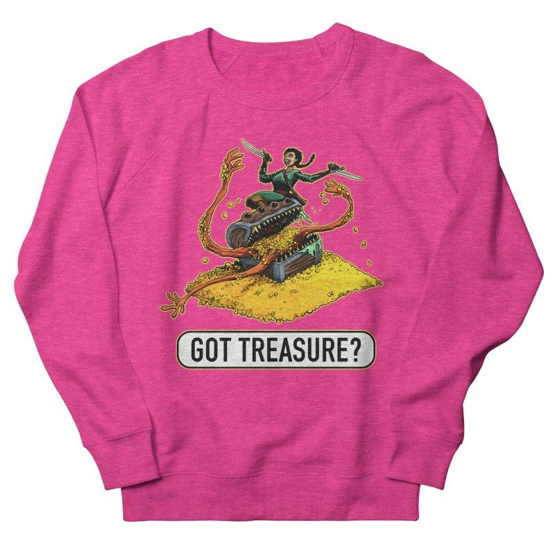 Got Treasure? Men's French Terry Sweatshirt by Joe Abboreno's Artist Shop