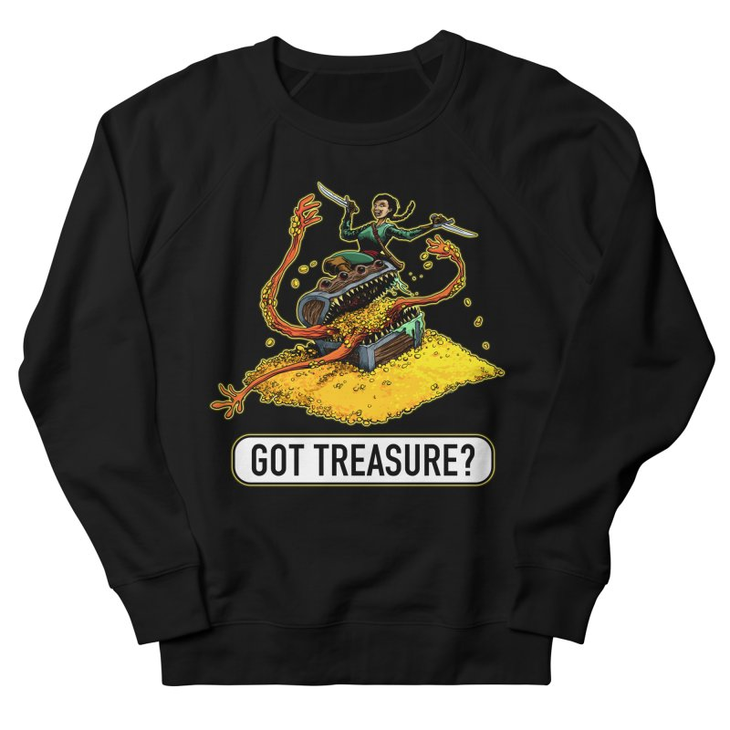 Got Treasure? Men's French Terry Sweatshirt by Joe Abboreno's Artist Shop