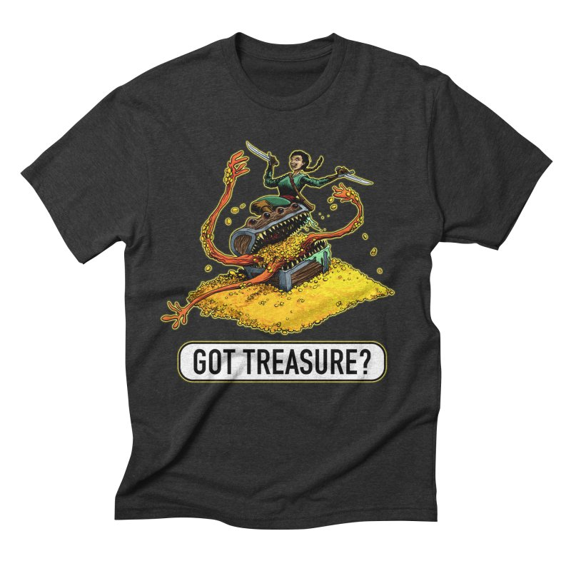 Got Treasure? Men's Triblend T-Shirt by Joe Abboreno's Artist Shop