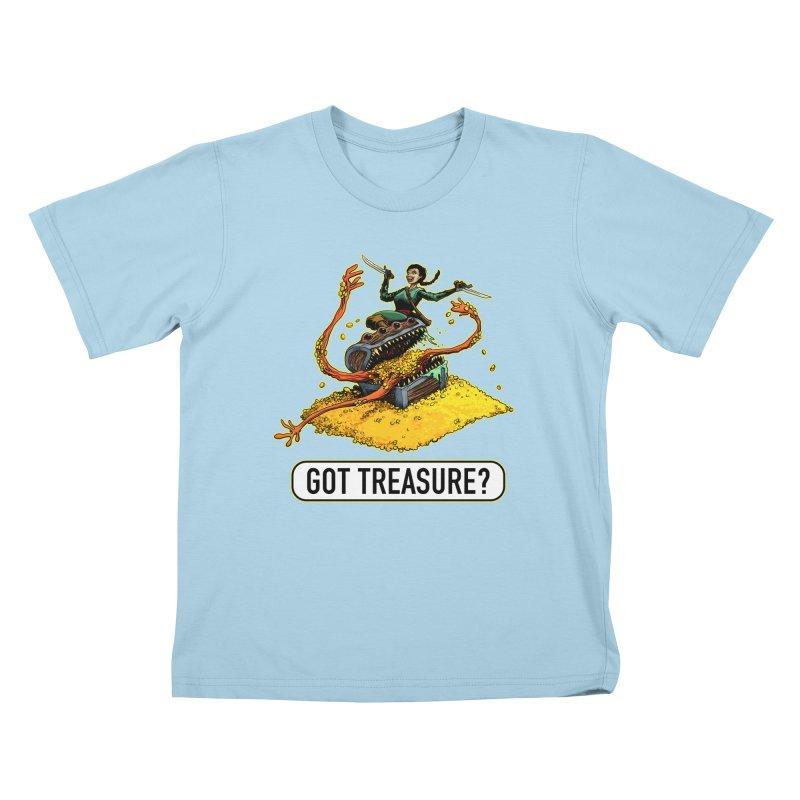 Got Treasure? Kids T-Shirt by Joe Abboreno's Artist Shop