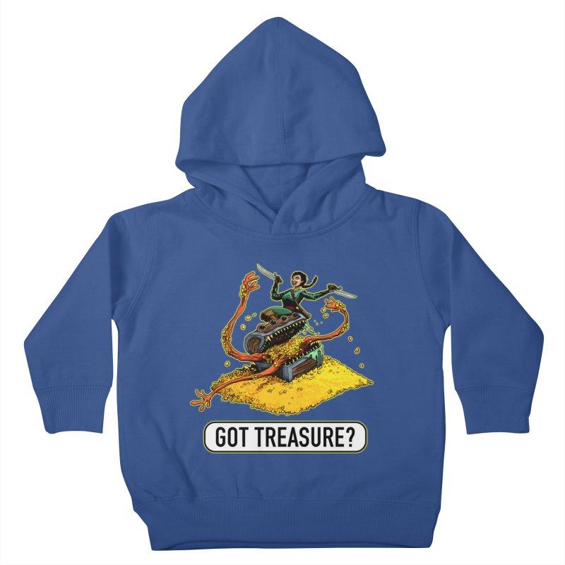 Got Treasure? Kids Toddler Pullover Hoody by Joe Abboreno's Artist Shop