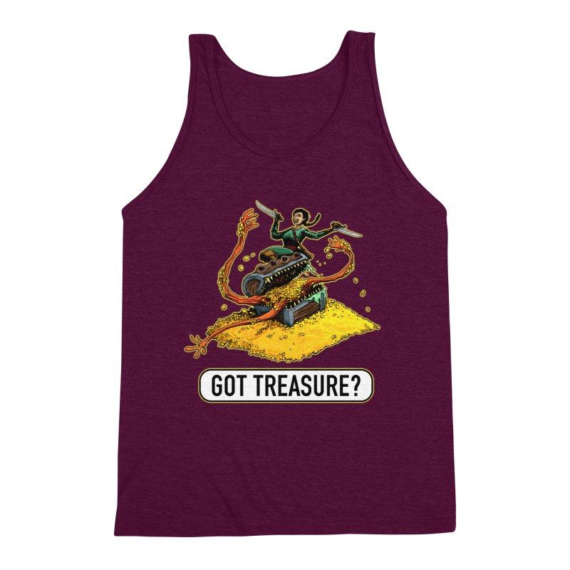 Got Treasure? Men's Triblend Tank by Joe Abboreno's Artist Shop