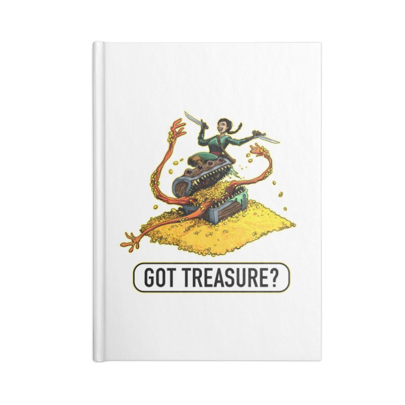 Got Treasure? Accessories Lined Journal Notebook by Joe Abboreno's Artist Shop