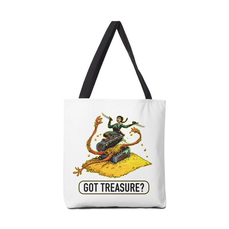 Got Treasure? Accessories Tote Bag Bag by Joe Abboreno's Artist Shop