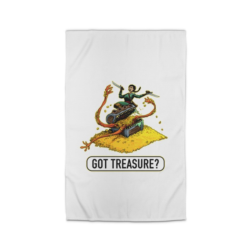 Got Treasure? Home Rug by Joe Abboreno's Artist Shop