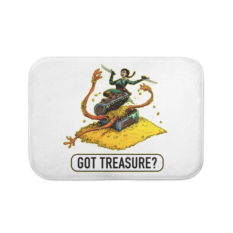 Got Treasure? Home Bath Mat by Joe Abboreno's Artist Shop