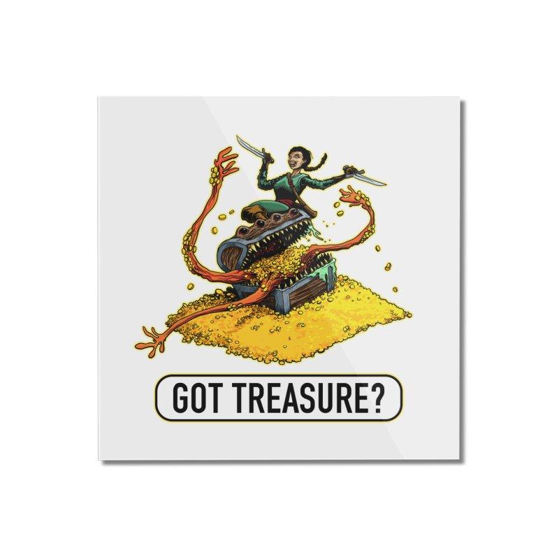 Got Treasure? Home Mounted Acrylic Print by Joe Abboreno's Artist Shop