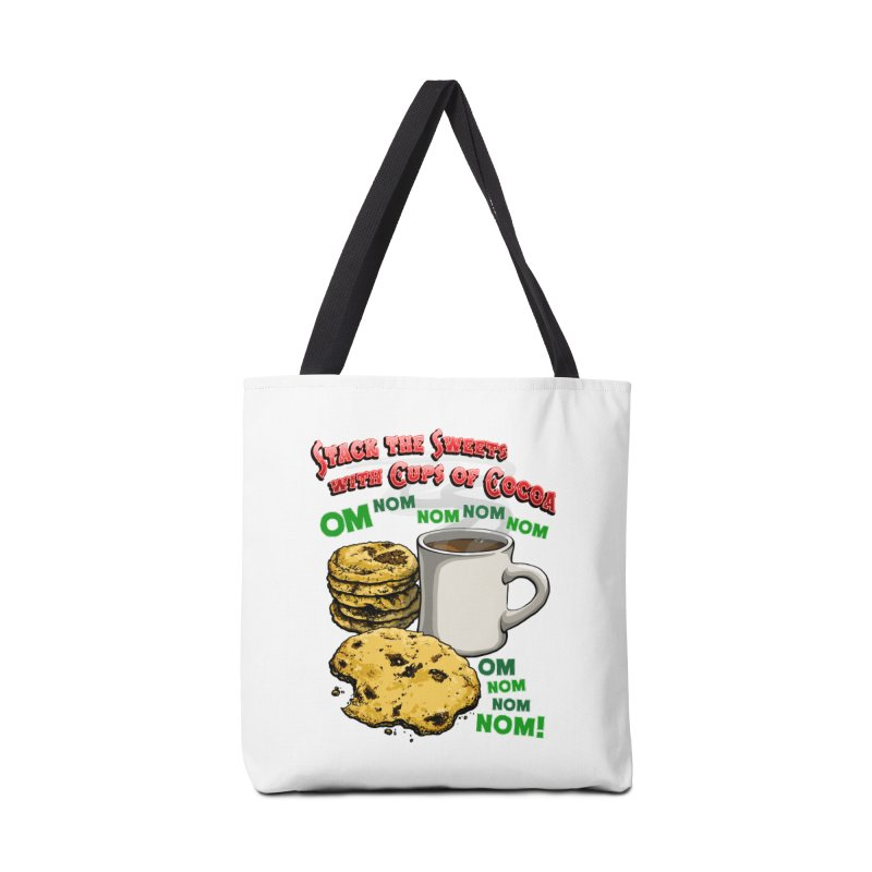 Stack the Sweets with Cups of Cocoa Accessories Tote Bag Bag by Joe Abboreno's Artist Shop