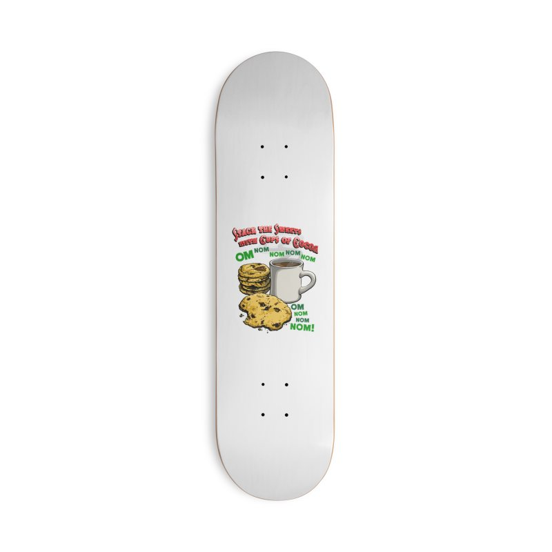 Stack the Sweets with Cups of Cocoa Accessories Deck Only Skateboard by Joe Abboreno's Artist Shop