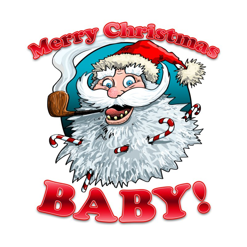 Merry Christmas Baby! Women's V-Neck by Joe Abboreno's Artist Shop
