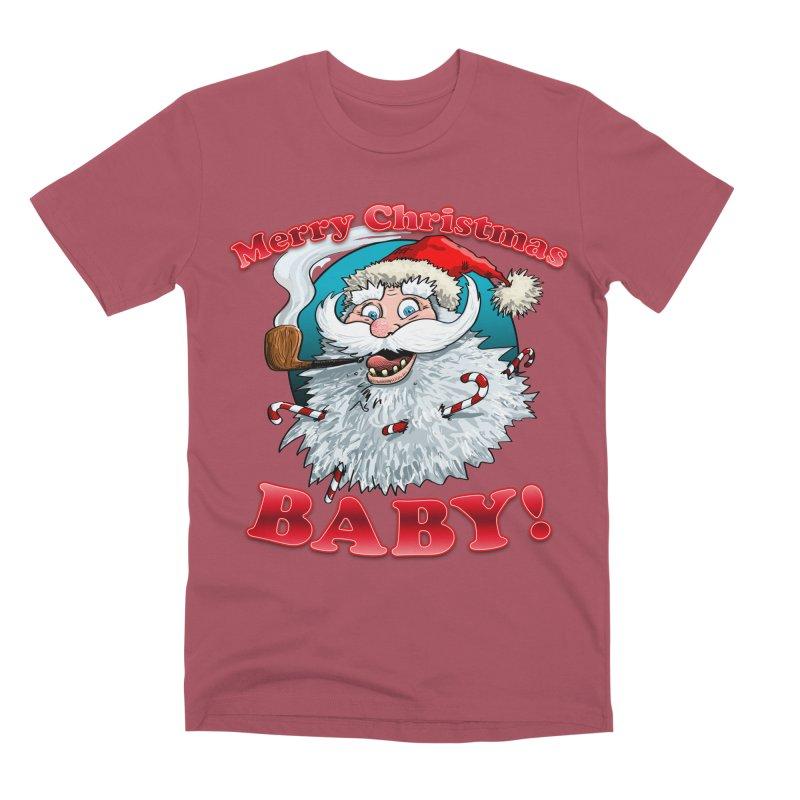 Merry Christmas Baby! Men's Premium T-Shirt by Joe Abboreno's Artist Shop