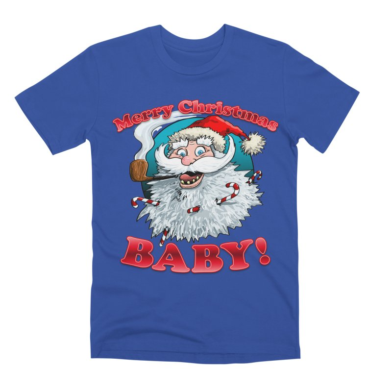 Merry Christmas Baby! Men's Premium T-Shirt by Joe Abboreno's Artist Shop