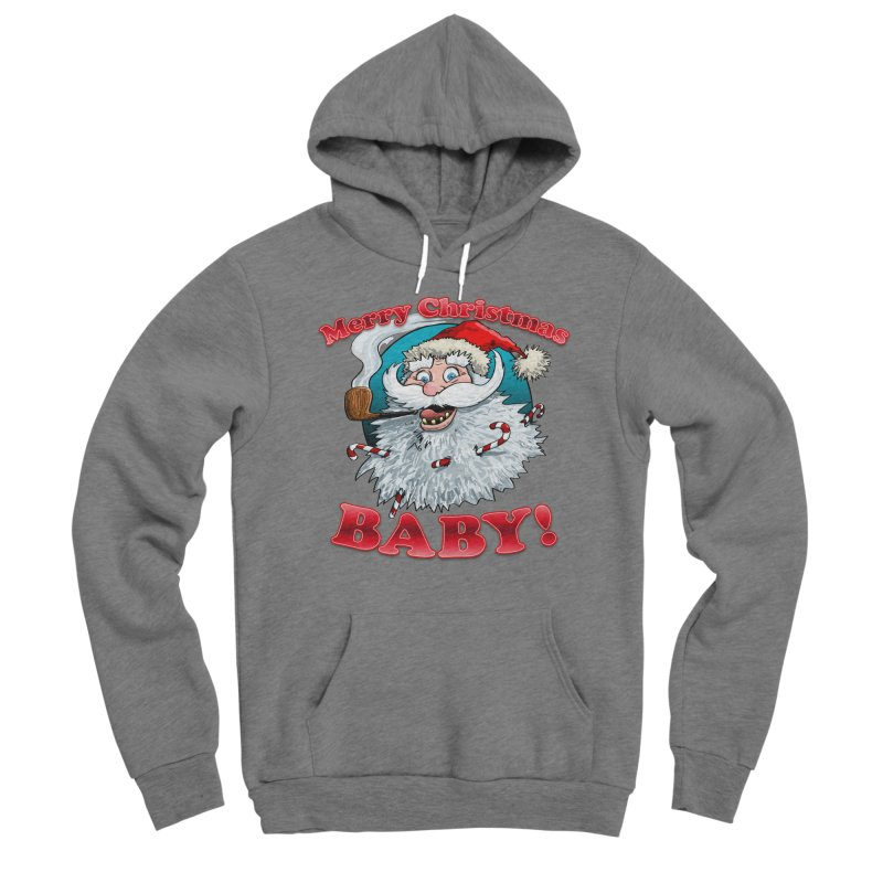 Merry Christmas Baby! Men's Sponge Fleece Pullover Hoody by Joe Abboreno's Artist Shop