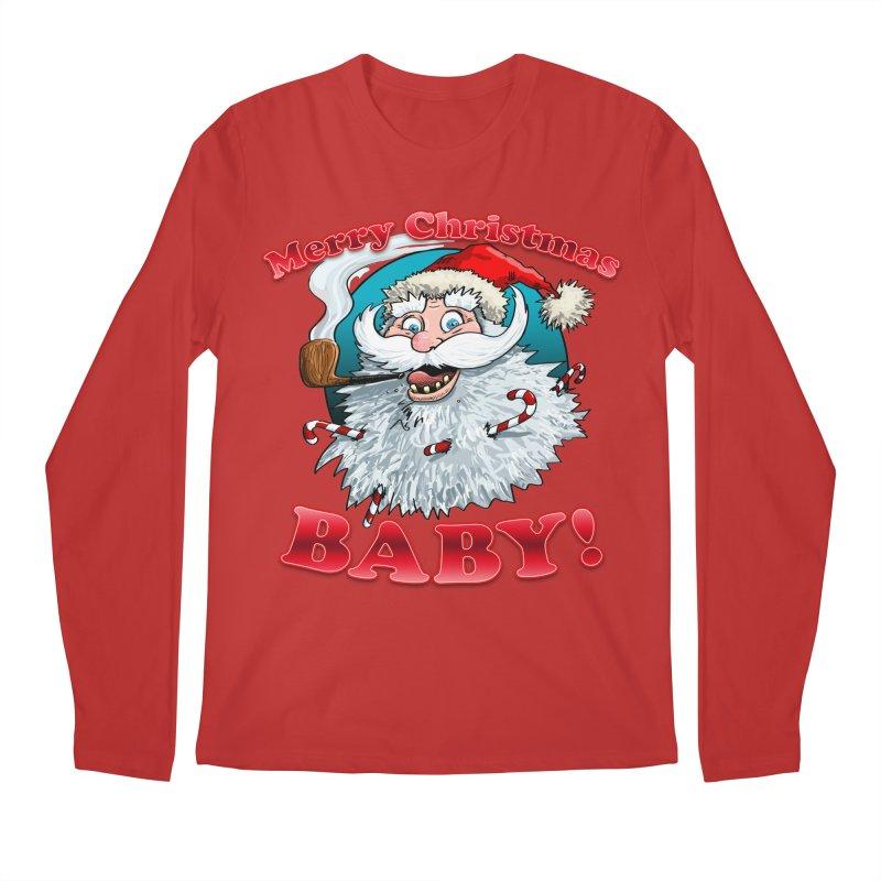 Merry Christmas Baby! Men's Regular Longsleeve T-Shirt by Joe Abboreno's Artist Shop