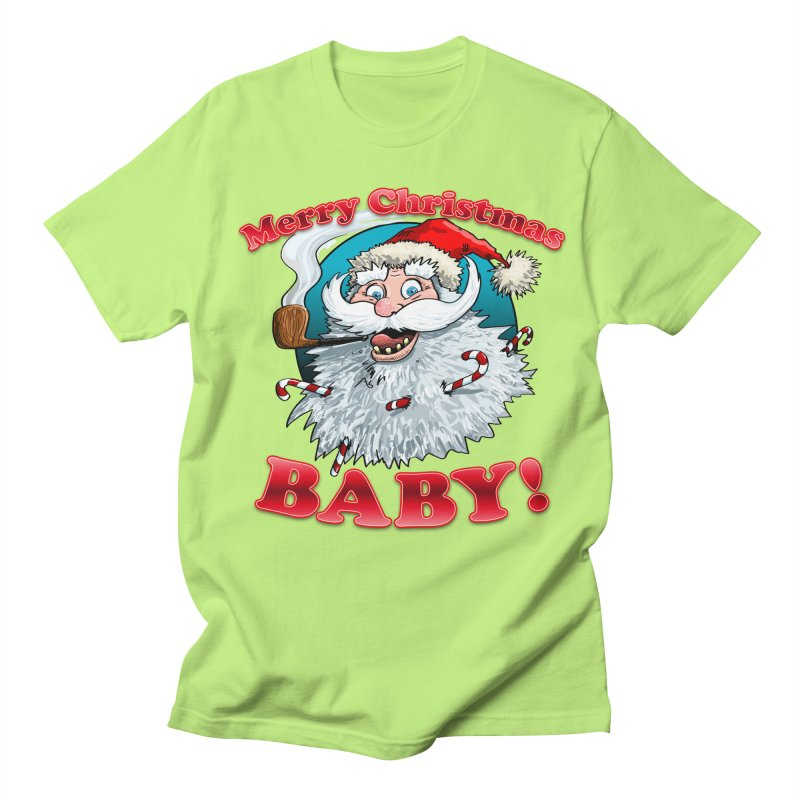 Merry Christmas Baby! Women's Regular Unisex T-Shirt by Joe Abboreno's Artist Shop