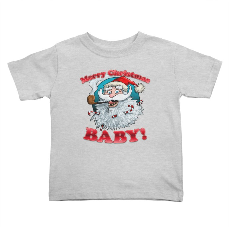 Merry Christmas Baby! Kids Toddler T-Shirt by Joe Abboreno's Artist Shop