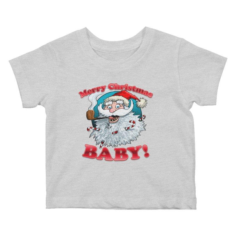 Merry Christmas Baby! Kids Baby T-Shirt by Joe Abboreno's Artist Shop
