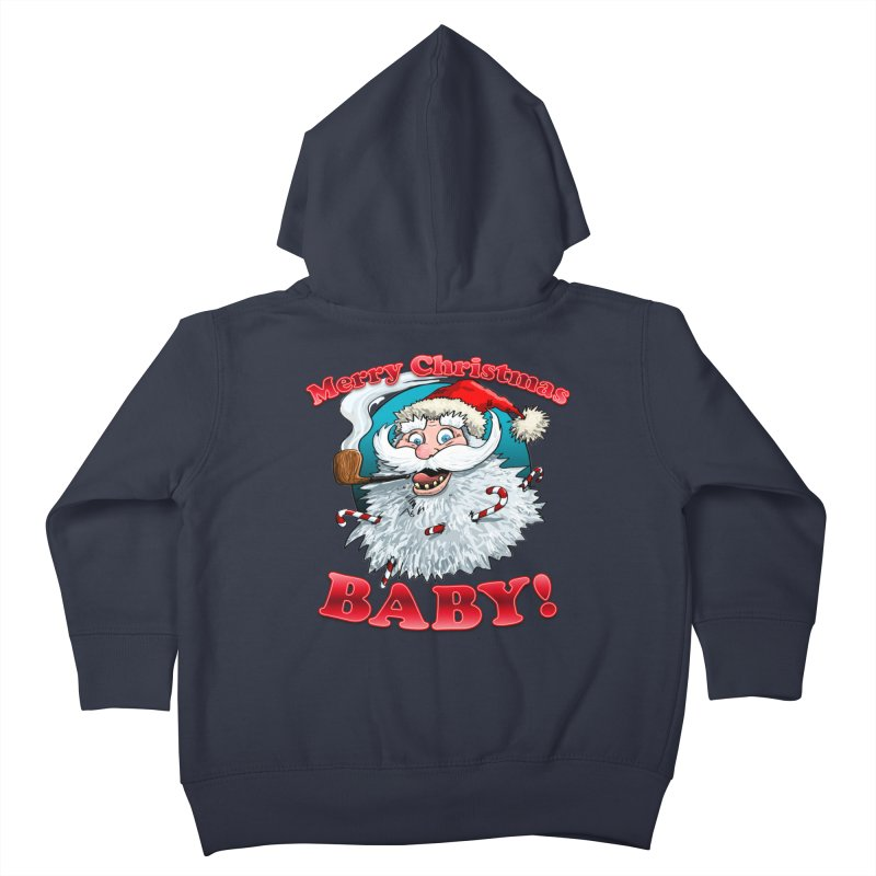 Merry Christmas Baby! Kids Toddler Zip-Up Hoody by Joe Abboreno's Artist Shop