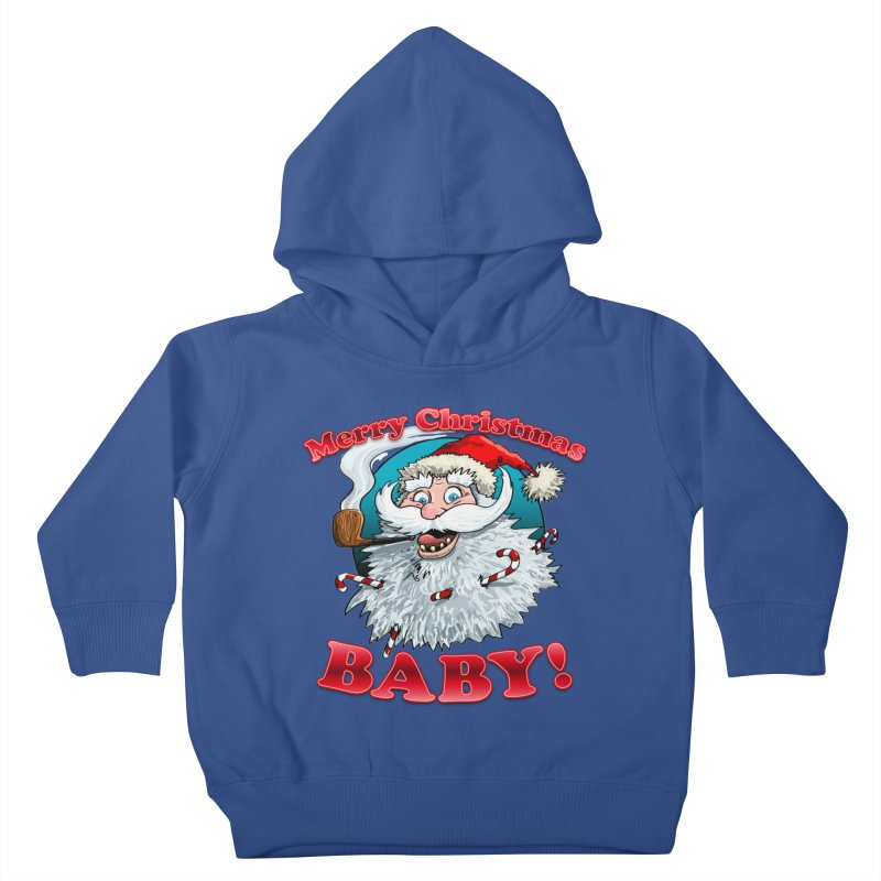Merry Christmas Baby! Kids Toddler Pullover Hoody by Joe Abboreno's Artist Shop