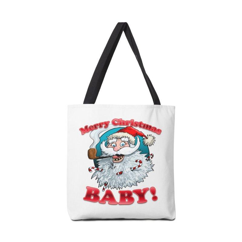 Merry Christmas Baby! Accessories Tote Bag Bag by Joe Abboreno's Artist Shop