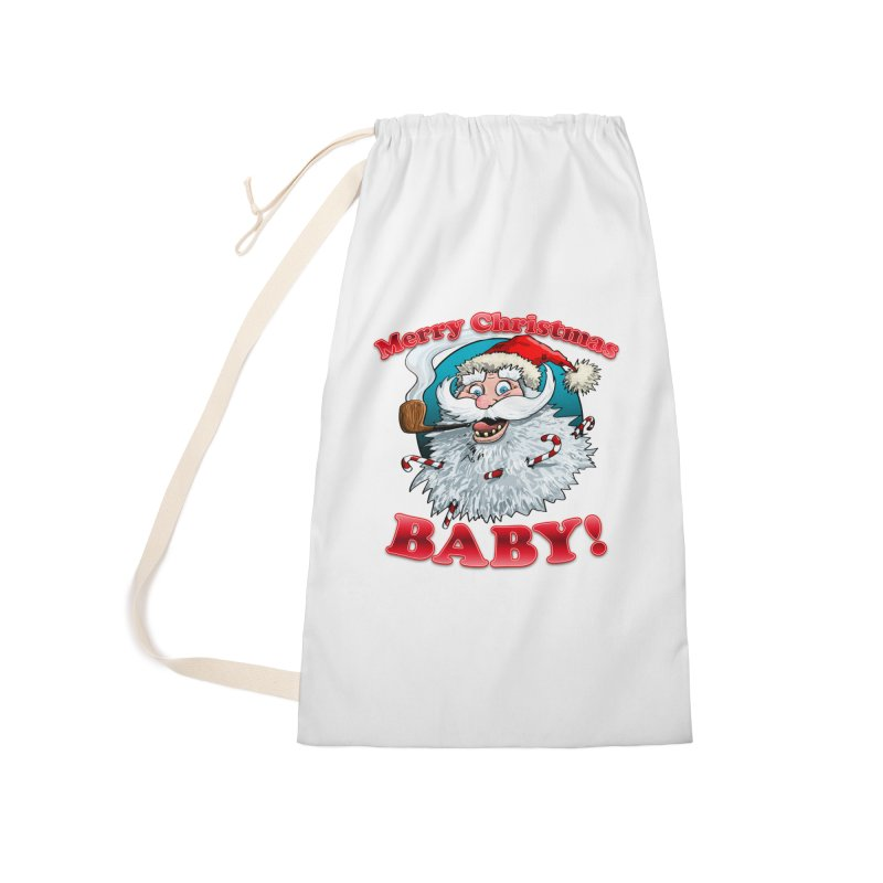 Merry Christmas Baby! Accessories Laundry Bag Bag by Joe Abboreno's Artist Shop