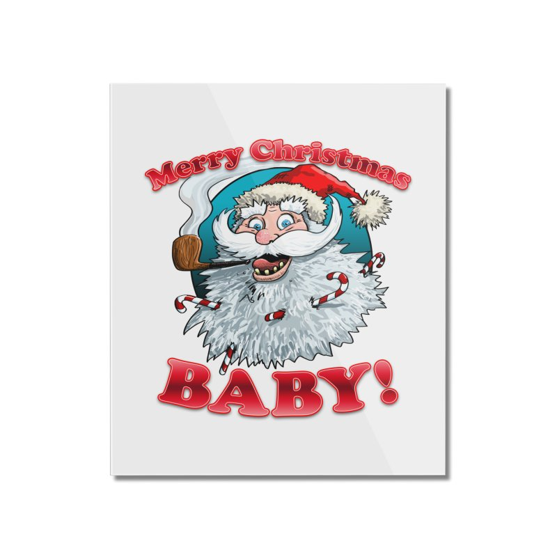 Merry Christmas Baby! Home Mounted Acrylic Print by Joe Abboreno's Artist Shop