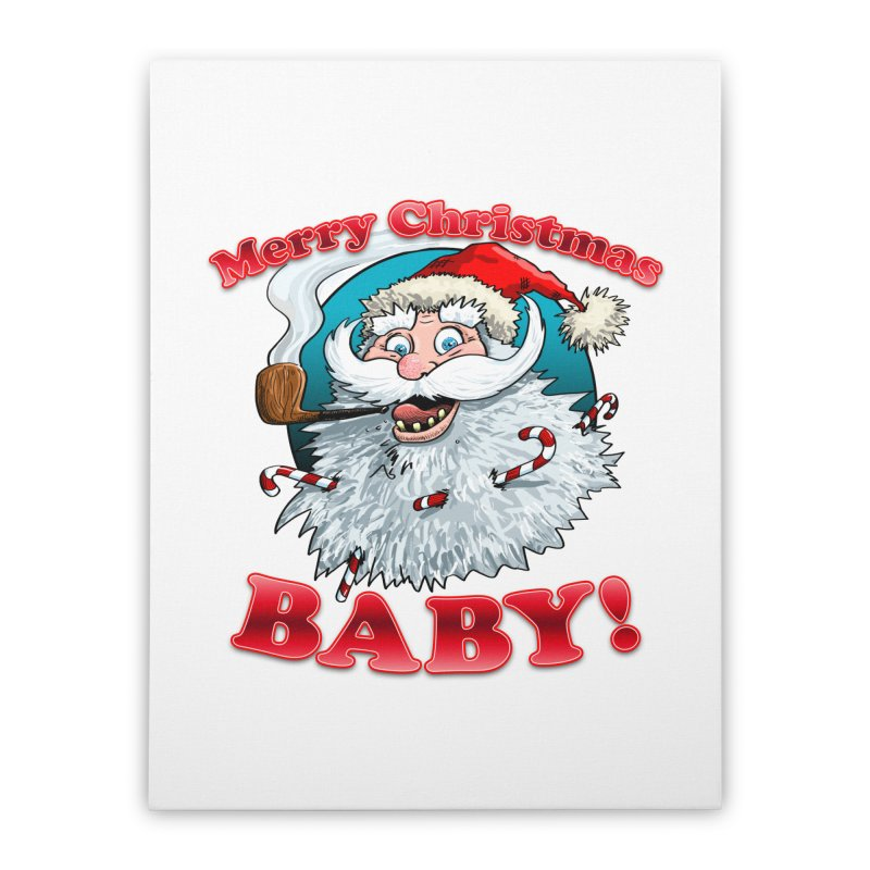 Merry Christmas Baby! Home Stretched Canvas by Joe Abboreno's Artist Shop