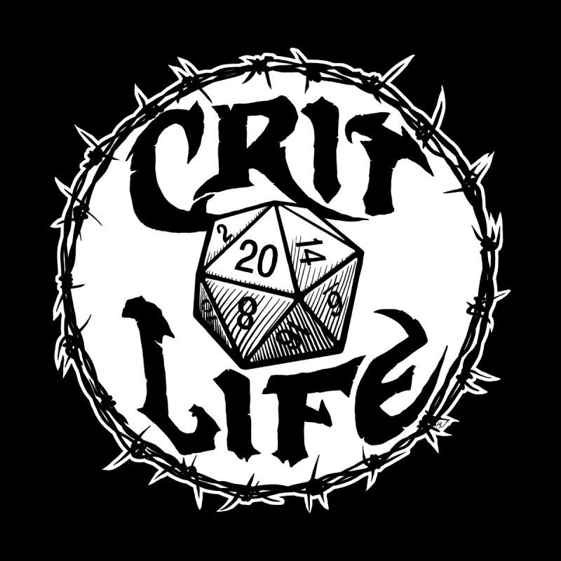Crit Life (Light on Dark) Men's T-Shirt by Joe Abboreno's Artist Shop