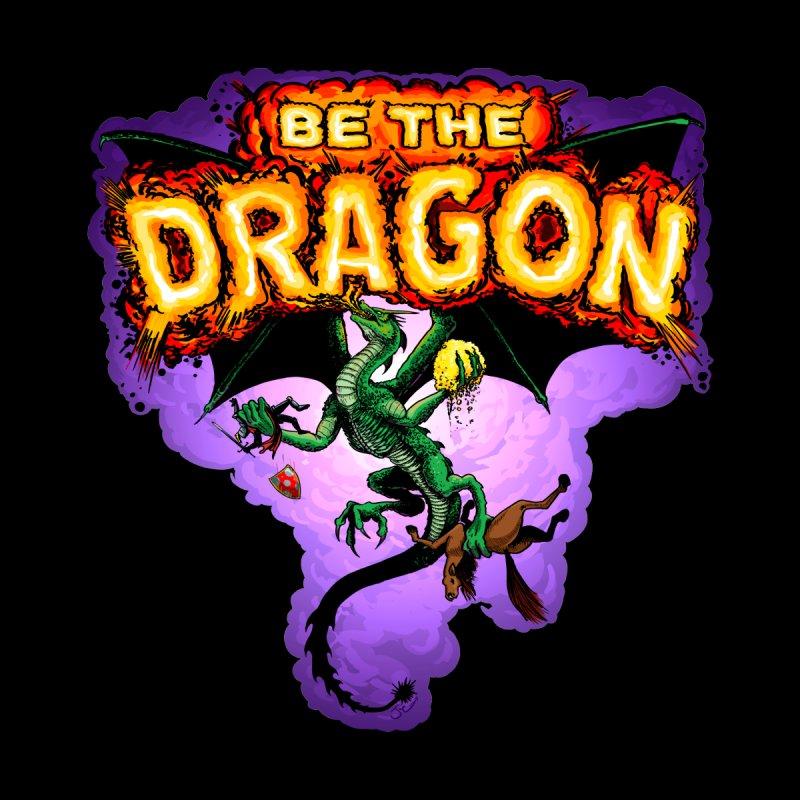 Be the Dragon Men's T-Shirt by Joe Abboreno's Artist Shop