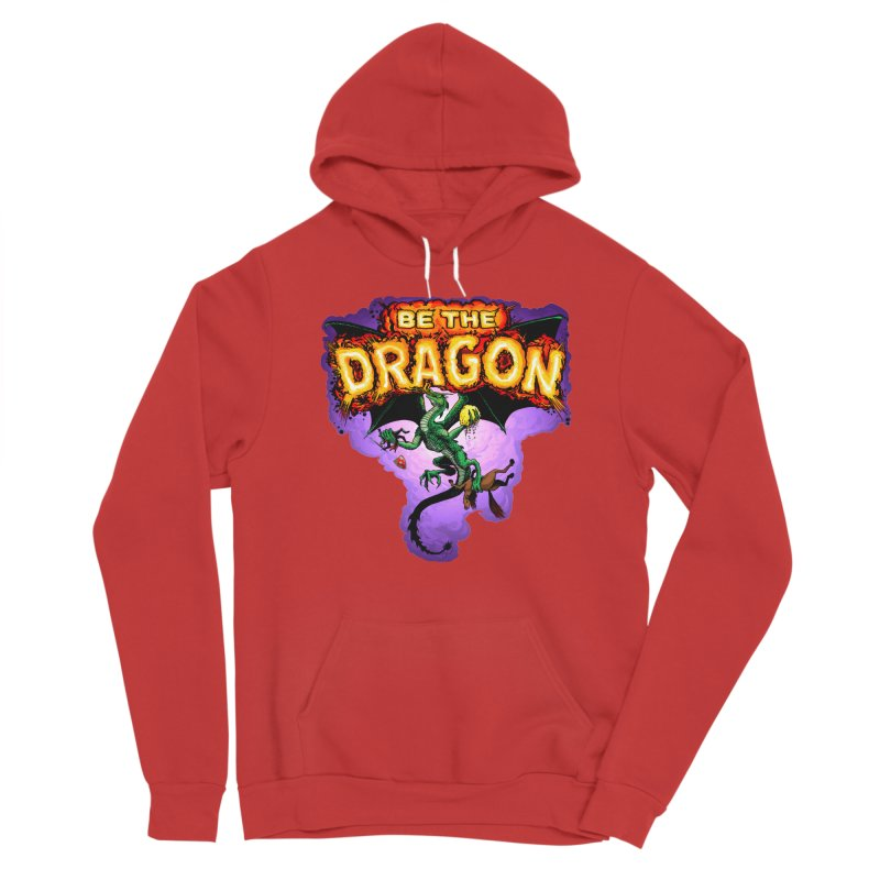 Be the Dragon Men's Sponge Fleece Pullover Hoody by Joe Abboreno's Artist Shop