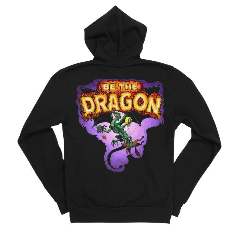 Be the Dragon Women's Sponge Fleece Zip-Up Hoody by Joe Abboreno's Artist Shop