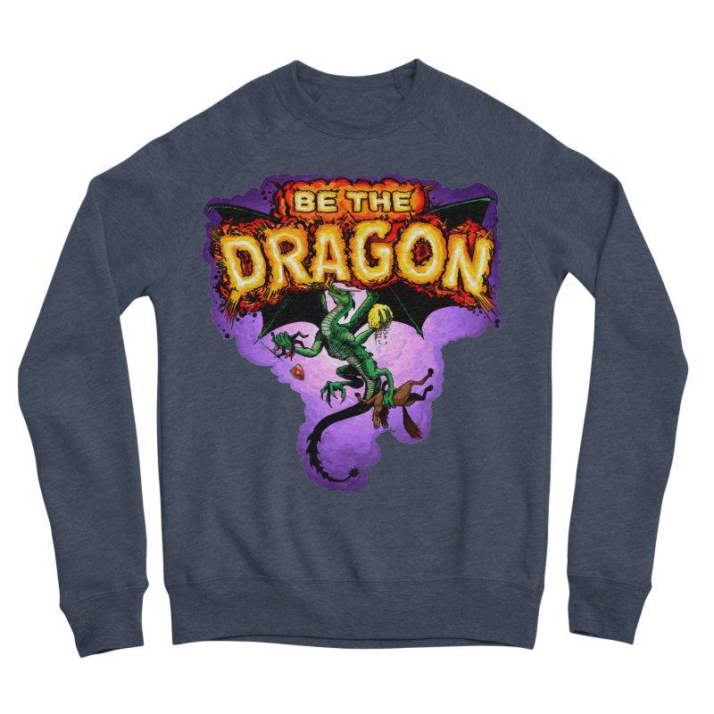 Be the Dragon Men's Sponge Fleece Sweatshirt by Joe Abboreno's Artist Shop