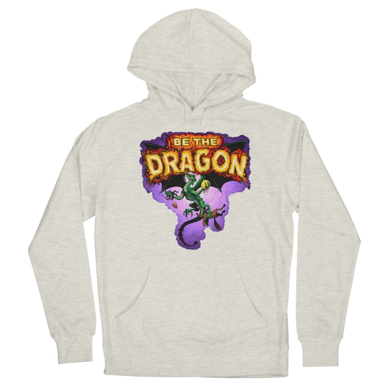 Be the Dragon Men's French Terry Pullover Hoody by Joe Abboreno's Artist Shop