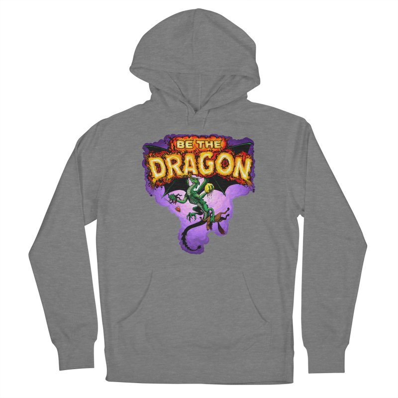 Be the Dragon Women's French Terry Pullover Hoody by Joe Abboreno's Artist Shop