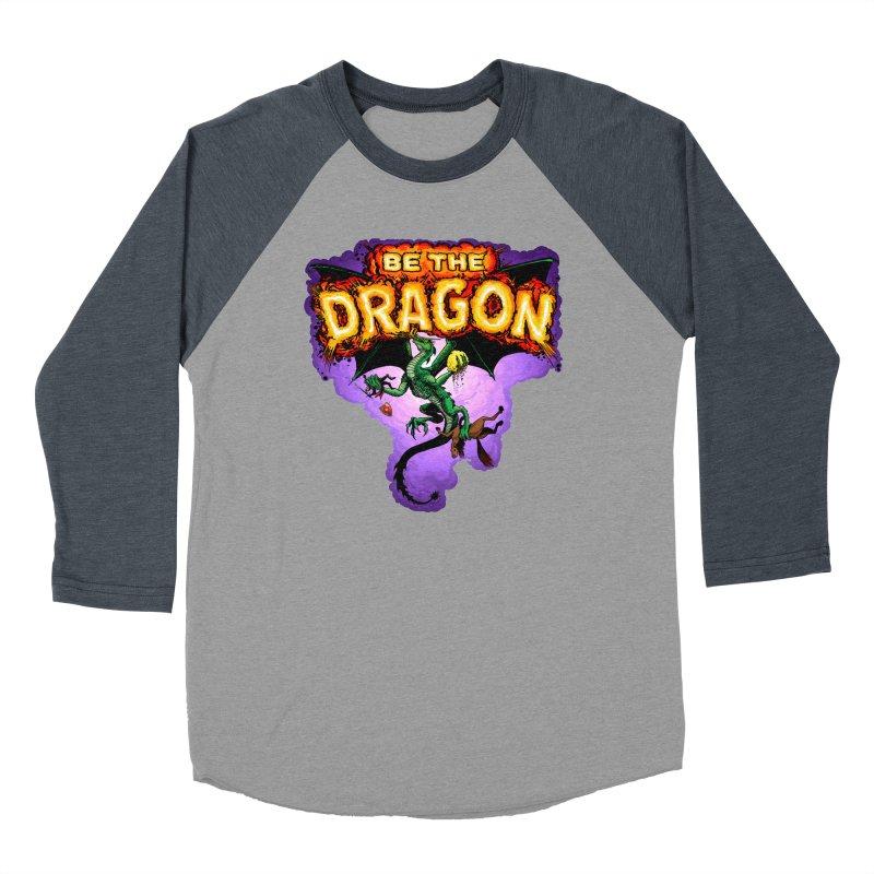 Be the Dragon Women's Baseball Triblend Longsleeve T-Shirt by Joe Abboreno's Artist Shop