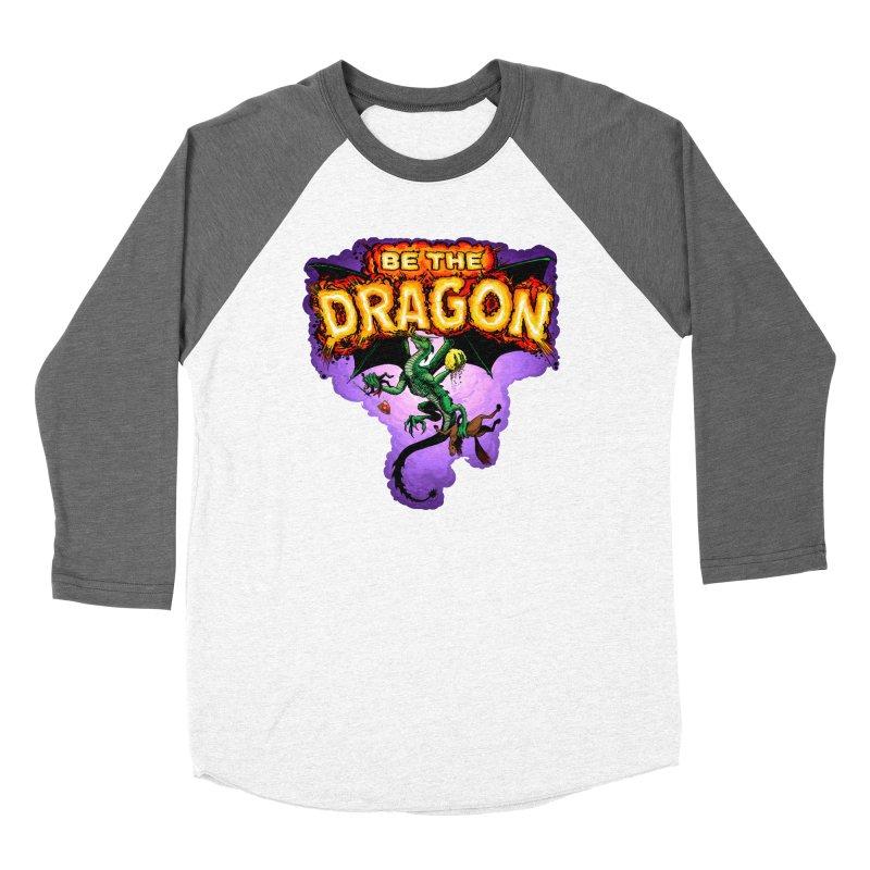 Be the Dragon Men's Baseball Triblend Longsleeve T-Shirt by Joe Abboreno's Artist Shop