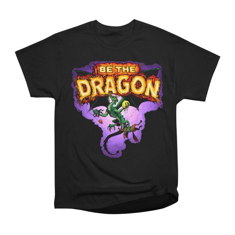 Be the Dragon Women's Heavyweight Unisex T-Shirt by Joe Abboreno's Artist Shop