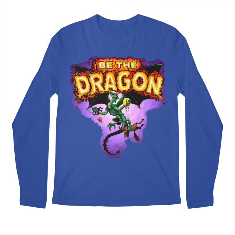 Be the Dragon Men's Regular Longsleeve T-Shirt by Joe Abboreno's Artist Shop